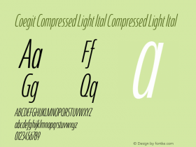 Coegit Compressed Light Ital