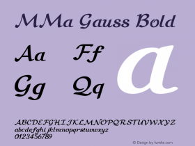 MMa Gauss