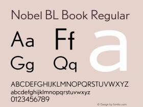 Nobel BL Book