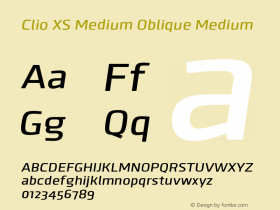 Clio XS Medium Oblique