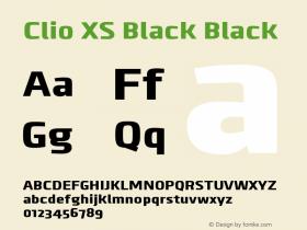 Clio XS Black