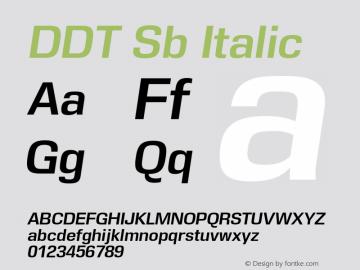 DDT Sb
