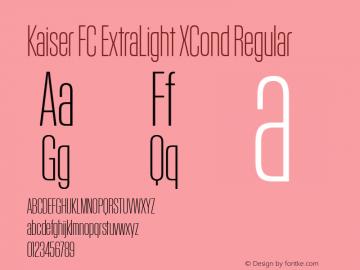 Kaiser FC ExtraLight XCond