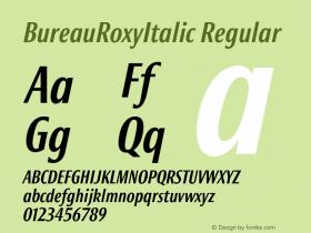 BureauRoxyItalic
