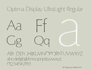Optima Display UltraLight