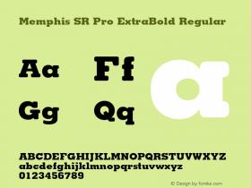 Memphis SR Pro ExtraBold