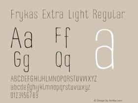 Frykas Extra Light
