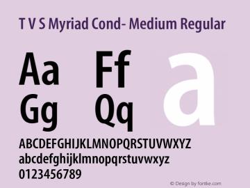 T V S Myriad Cond- Medium