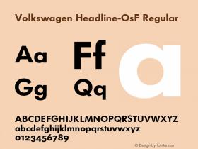 Volkswagen Headline-OsF