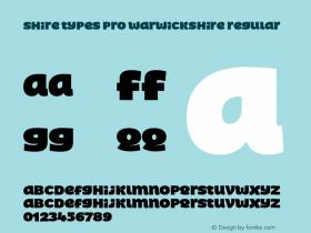 Shire Types Pro Warwickshire