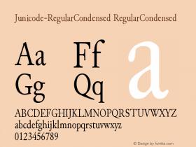 Junicode-RegularCondensed