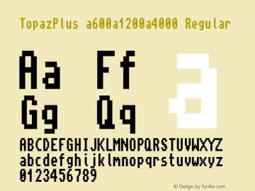TopazPlus a600a1200a4000