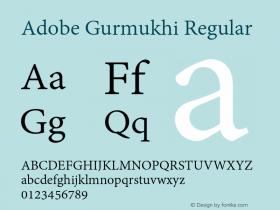 Adobe Gurmukhi