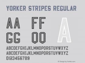 Yorker stripes