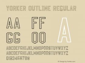 Yorker outline