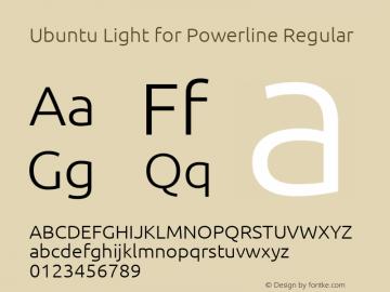 Ubuntu Light for Powerline