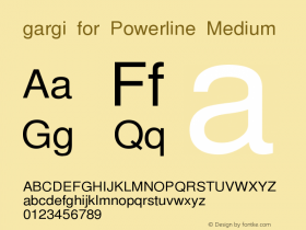 gargi for Powerline