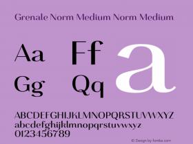 Grenale Norm Medium