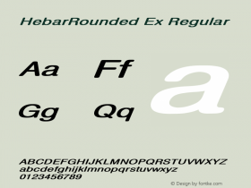 HebarRounded Ex