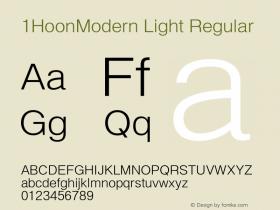 1HoonModern Light