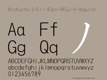 MtyKyotai2-El1-83pv-RKSJ-H