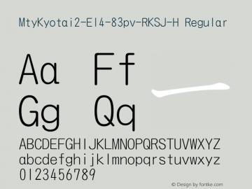 MtyKyotai2-El4-83pv-RKSJ-H