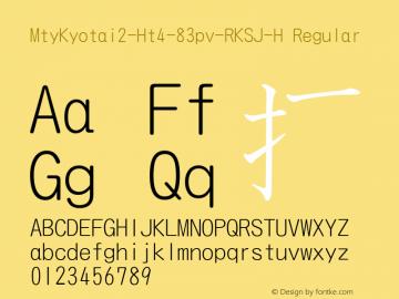 MtyKyotai2-Ht4-83pv-RKSJ-H