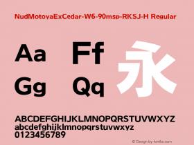 NudMotoyaExCedar-W6-90msp-RKSJ-H