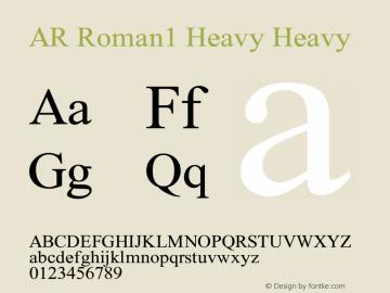 AR Roman1 Heavy