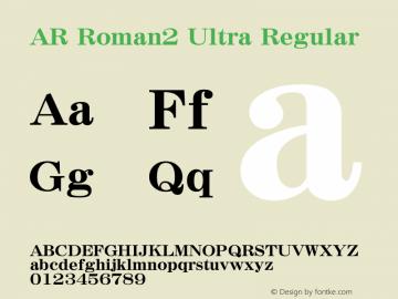 AR Roman2 Ultra