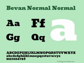 Bevan Normal