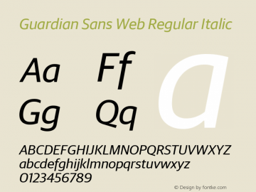 Guardian Sans Web Regular