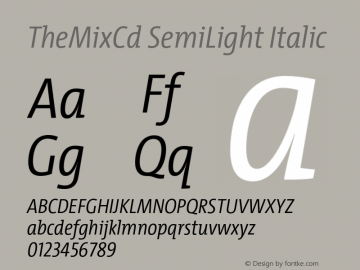 TheMixCd SemiLight
