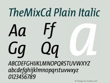 TheMixCd Plain