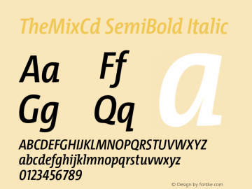 TheMixCd SemiBold