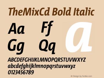 TheMixCd Bold