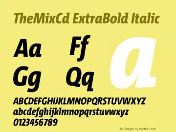 TheMixCd ExtraBold