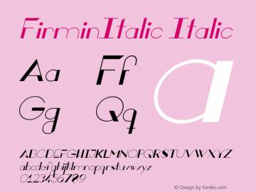 FirminItalic