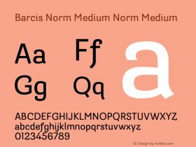 Barcis Norm Medium