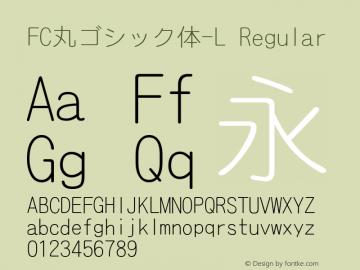 FC丸ゴシック体-L