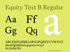 Equity Text B