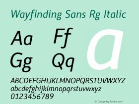 Wayfinding Sans Rg