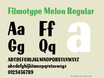 Filmotype Melon