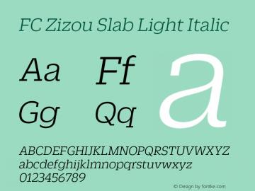 FC Zizou Slab Light