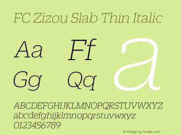 FC Zizou Slab Thin