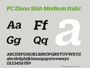 FC Zizou Slab Medium