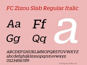 FC Zizou Slab Regular