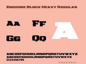 Endzone Block Heavy