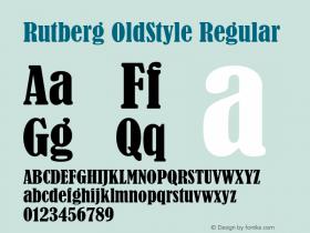 Rutberg OldStyle