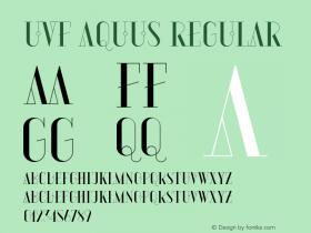 UVF Aquus